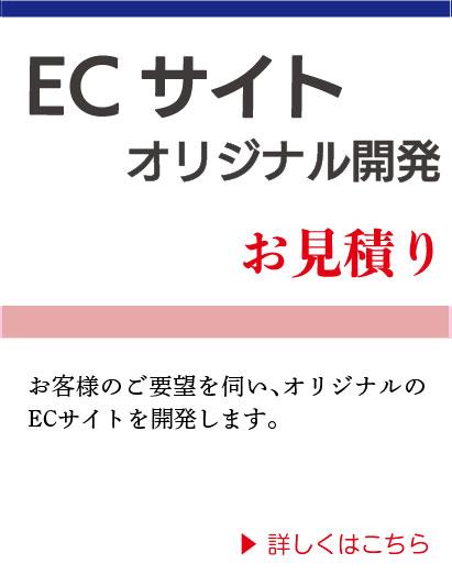 ECサイト オリジナル開発